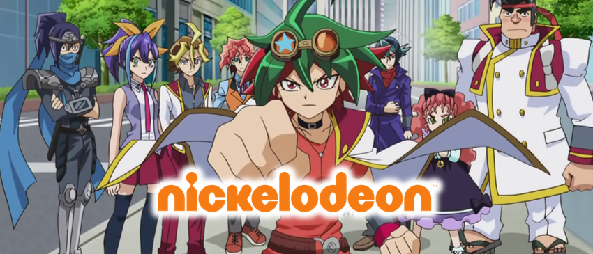 YuGiOh Arc-V Nickelodeon