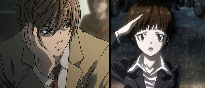 Death Note Psycho Pass