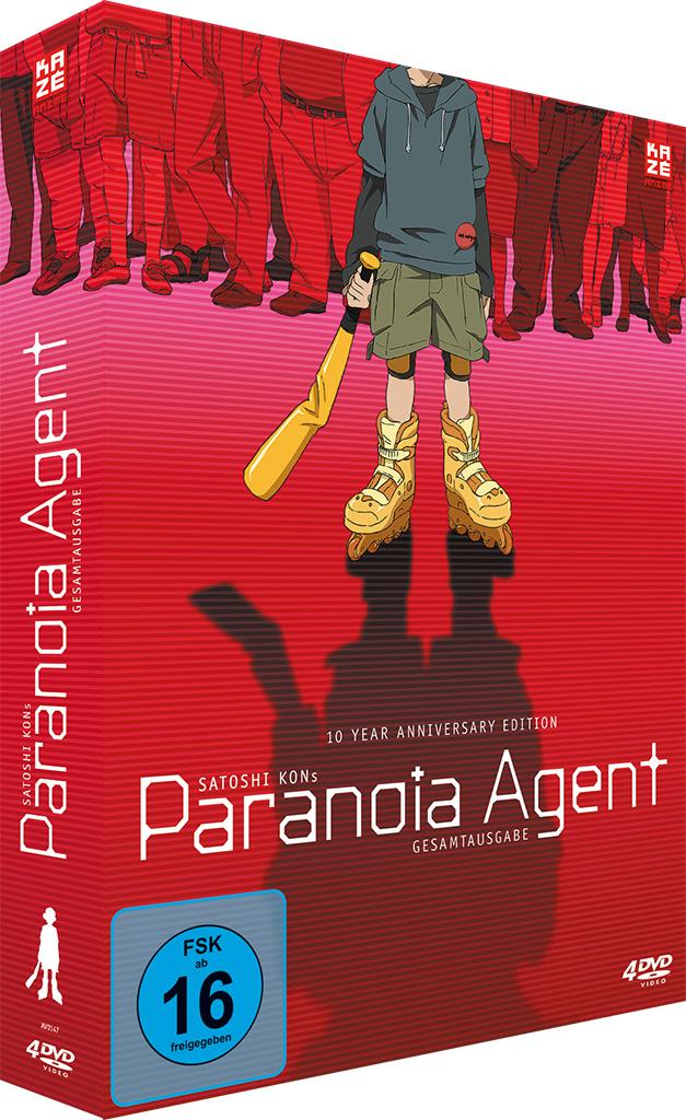 Paranoia Agent - Gesamtausgabe - Cover