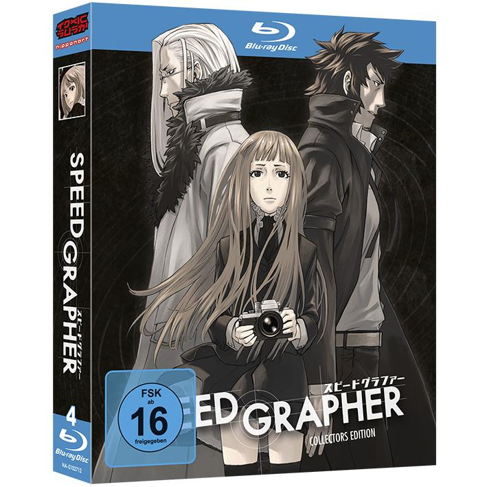 Speed Grapher Blu-ray
