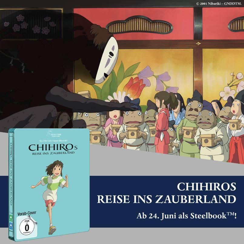 Ankündigung Chihiros Reise ins Zauberland
