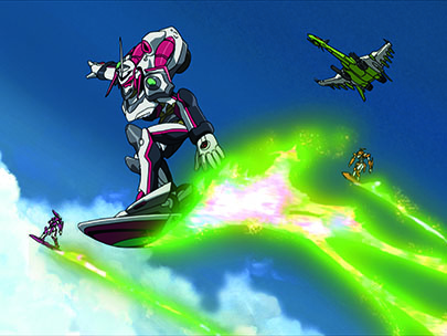 Eureka Seven Vol. 1 - Screenshot 1