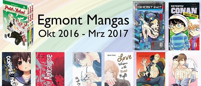 Egmont Manga Herbst 2016