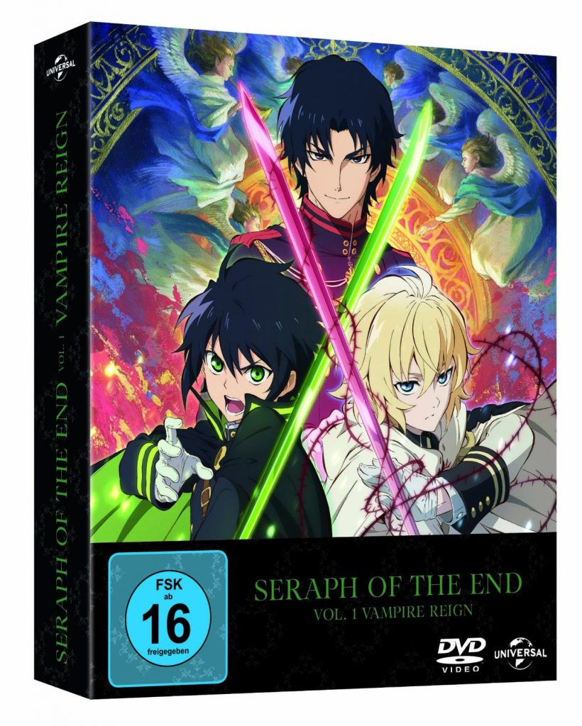 Seraph of the End Cover DVD