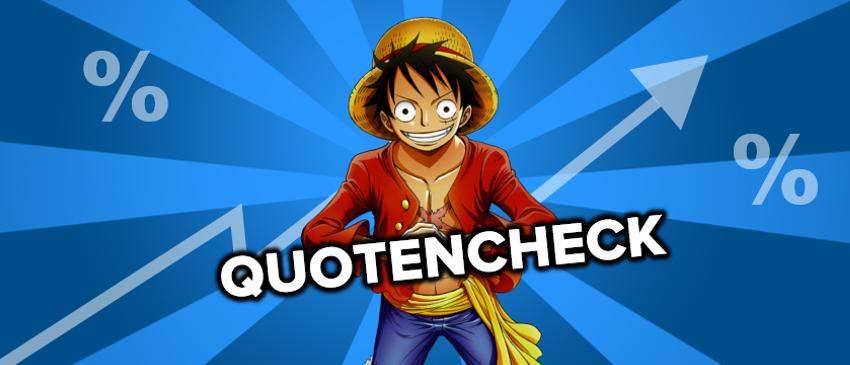 Staffelquotencheck One Piece