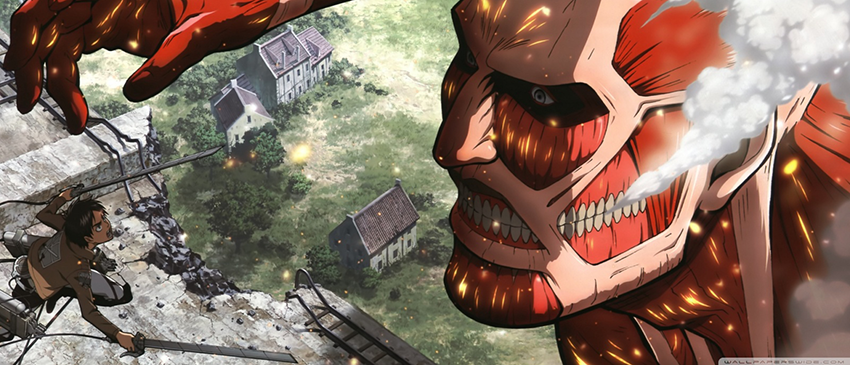 Attack on Titan Header