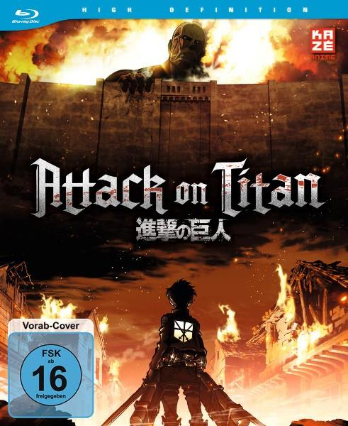 Attack on Titan Volume 1 Vorab-Cover Blu-ray