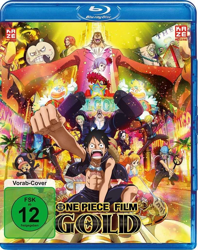 One Piece Film Gold Blu-Ray