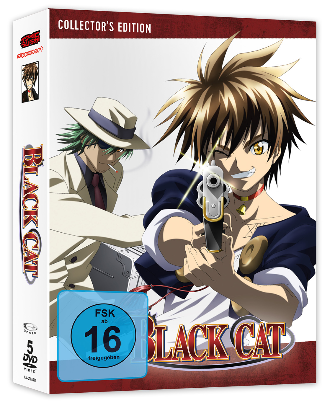 Black Cat DVD