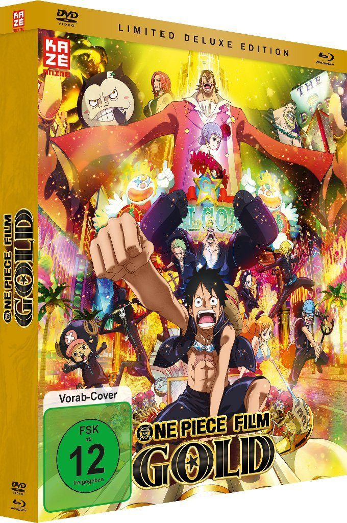 One Piece Film Gold Limited Deluxe Edition