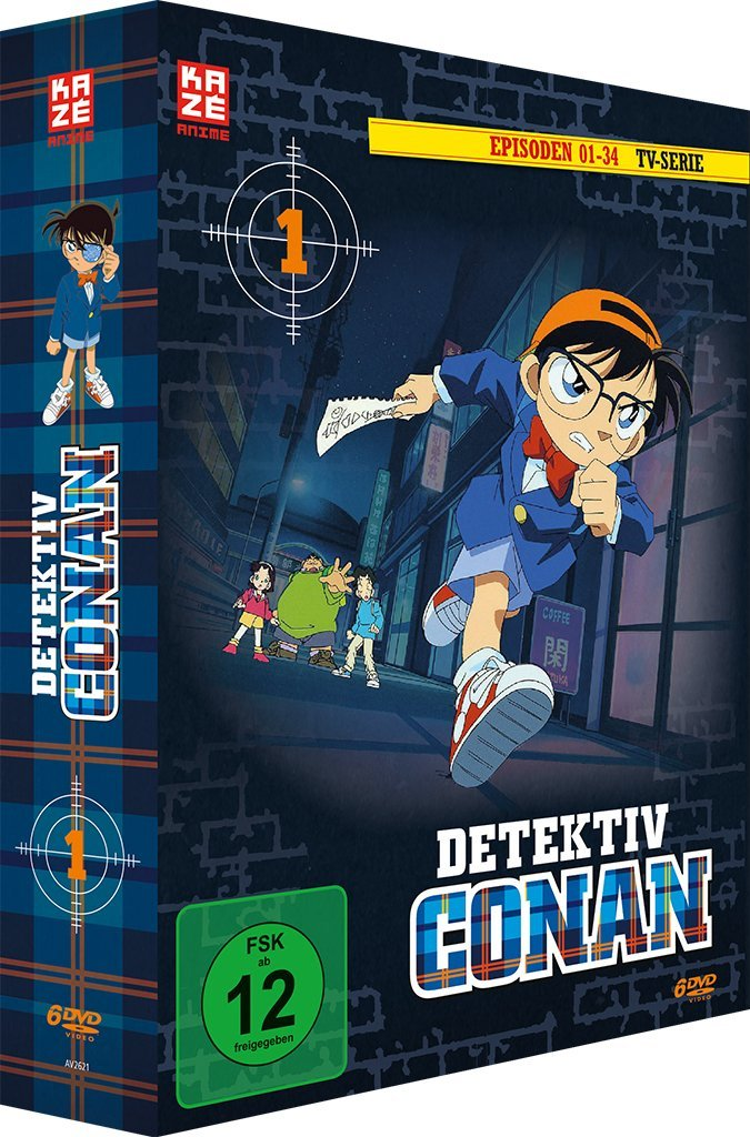 Detektiv Conan Box 1 Cover