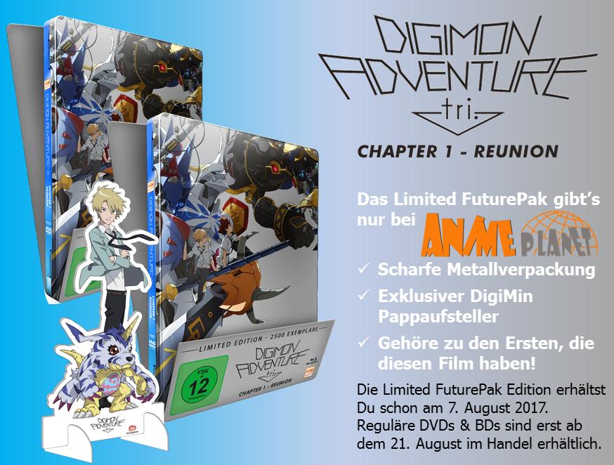 KSM Anime Enthullt Details Zum DVD BD Release Von Digimon Adventure