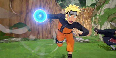 Naruto mit Rasengan