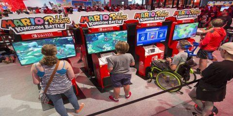 Nintendo Gamescom-Stand
