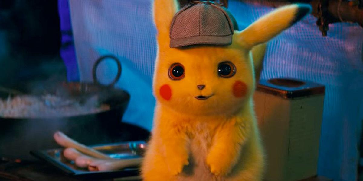 Das Pokémon Pikachu aus dem Live-Action-Film «Pokémon: Meisterdetektiv Pikachu»