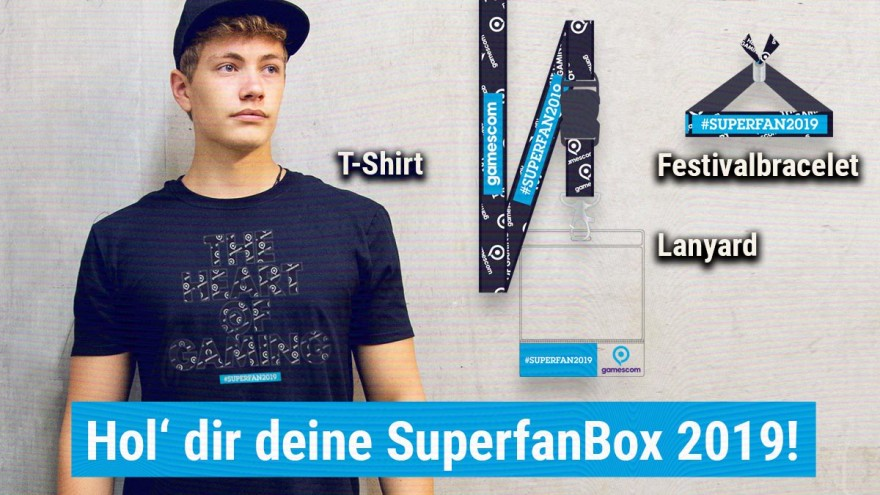 Gamescom SuperfanBox: Inhalt