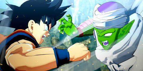 Dragon Ball Z: Kakarot: Son-Goku und Piccolo im Kampf