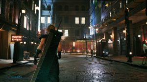 Final Fantasy 7 Remake: Düstere Straße in Midgar