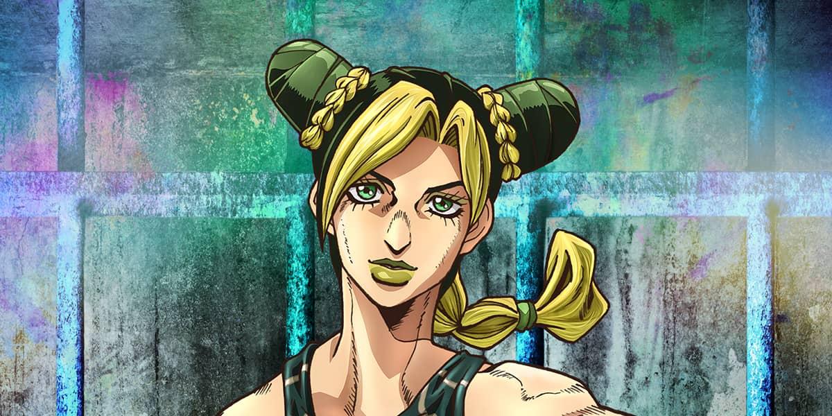 Jolyne Cujoh aus dem Anime Jojo's Bizarre Adventure: Stone Ocean